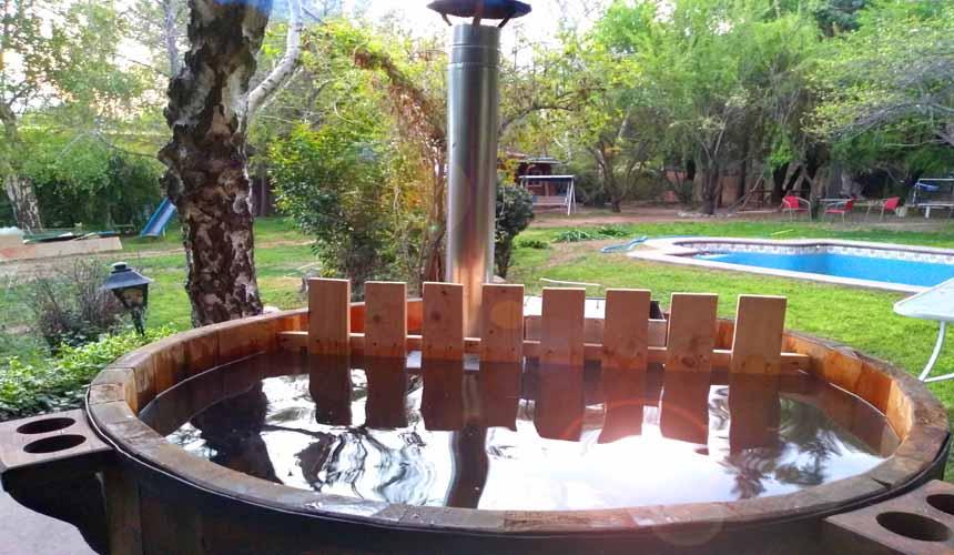 Tinaja de agua caliente